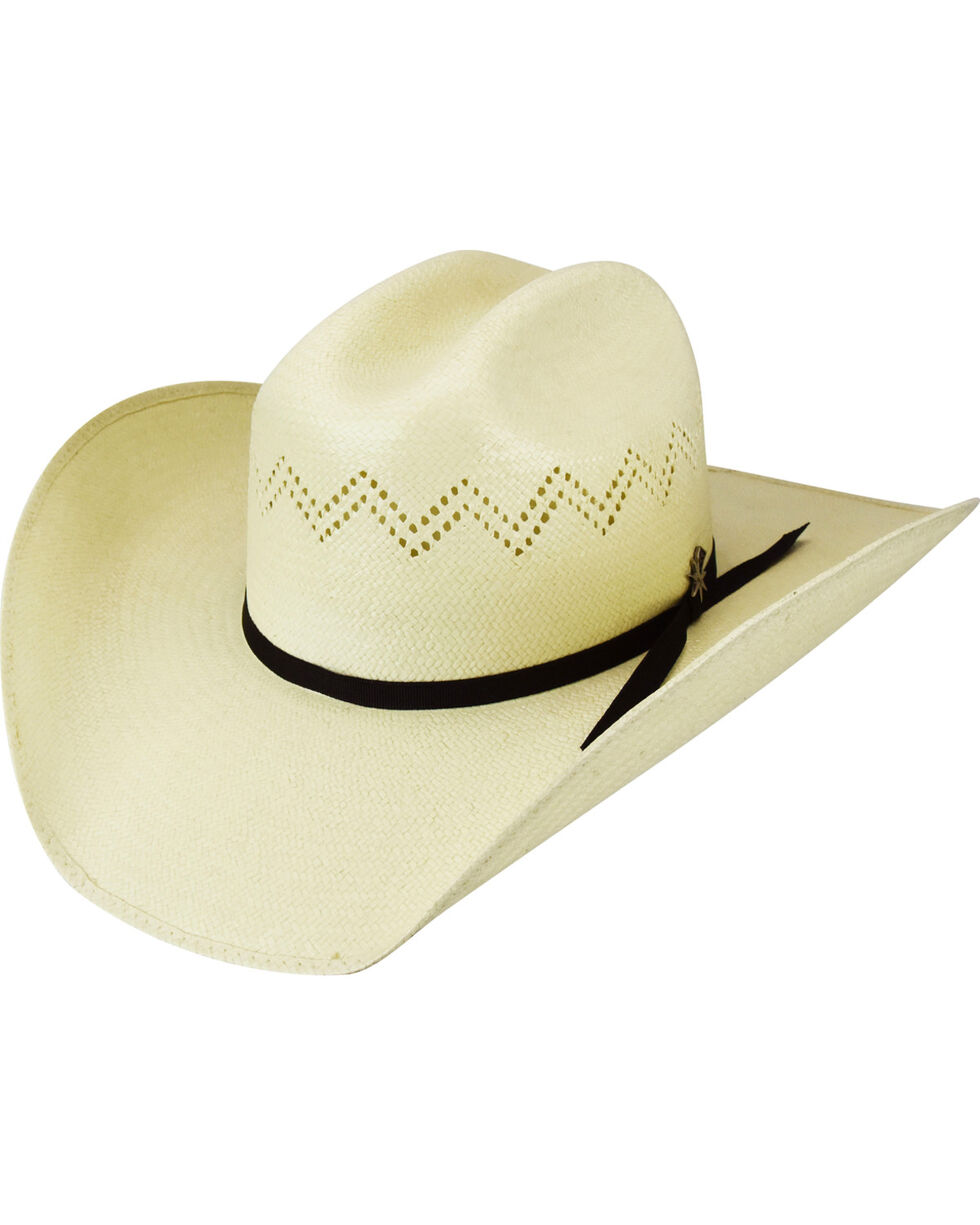 Bailey Men's Charlee 15X Straw Western Hat, , hi-res