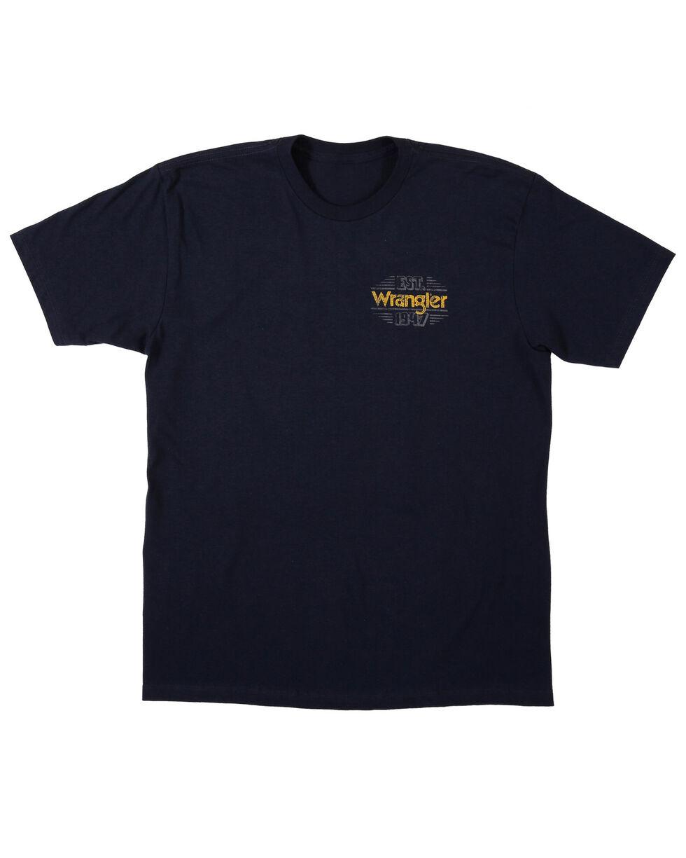 Wrangler Men's 1947 Trademark Short Sleeve T-Shirt, Navy, hi-res