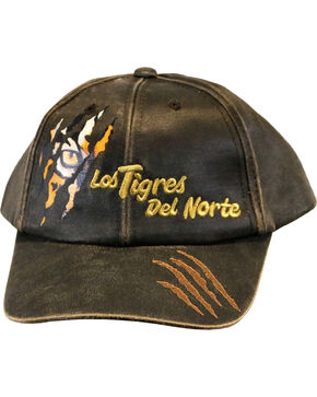 Los Tigres Del Norte Men's Garra Cap, Brown, hi-res