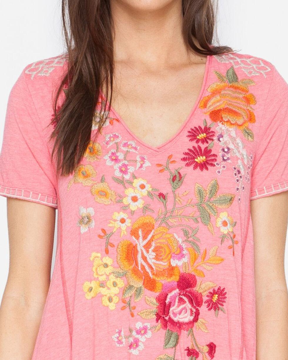 Johnny Was Women's Karlota Draped T-Shirt Tunic Dress , , hi-res