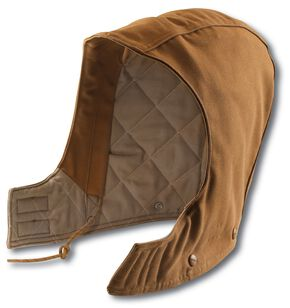 Carhartt Flame Resistant Quilt-Lined Duck Hood, Brown, hi-res