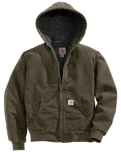 Carhartt Quilted Active Jacket, Forest Green, hi-res