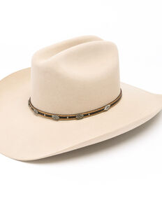 Stetson Men's Oak Creek 6x Felt Hat, Silver Belly, hi-res