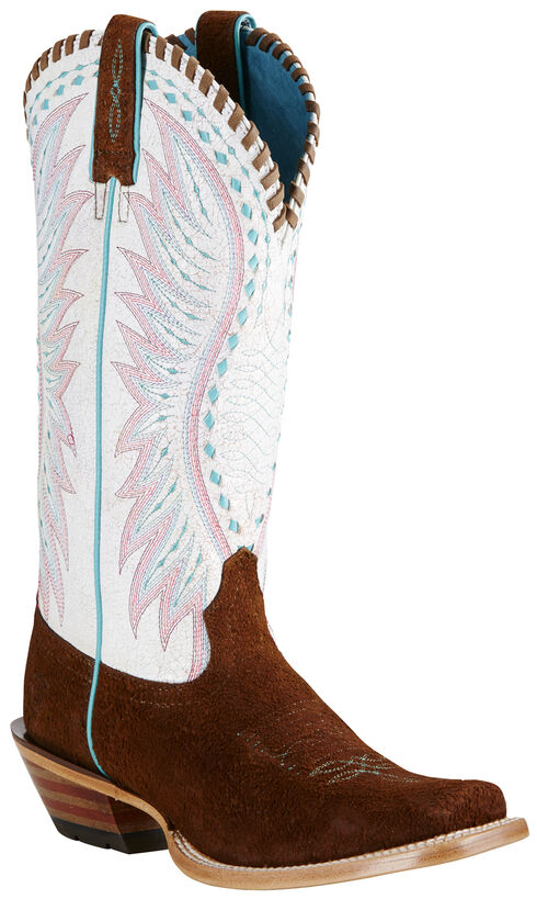 Ariat Women's Brown Dervy Boots - Square Toe, Brown, hi-res