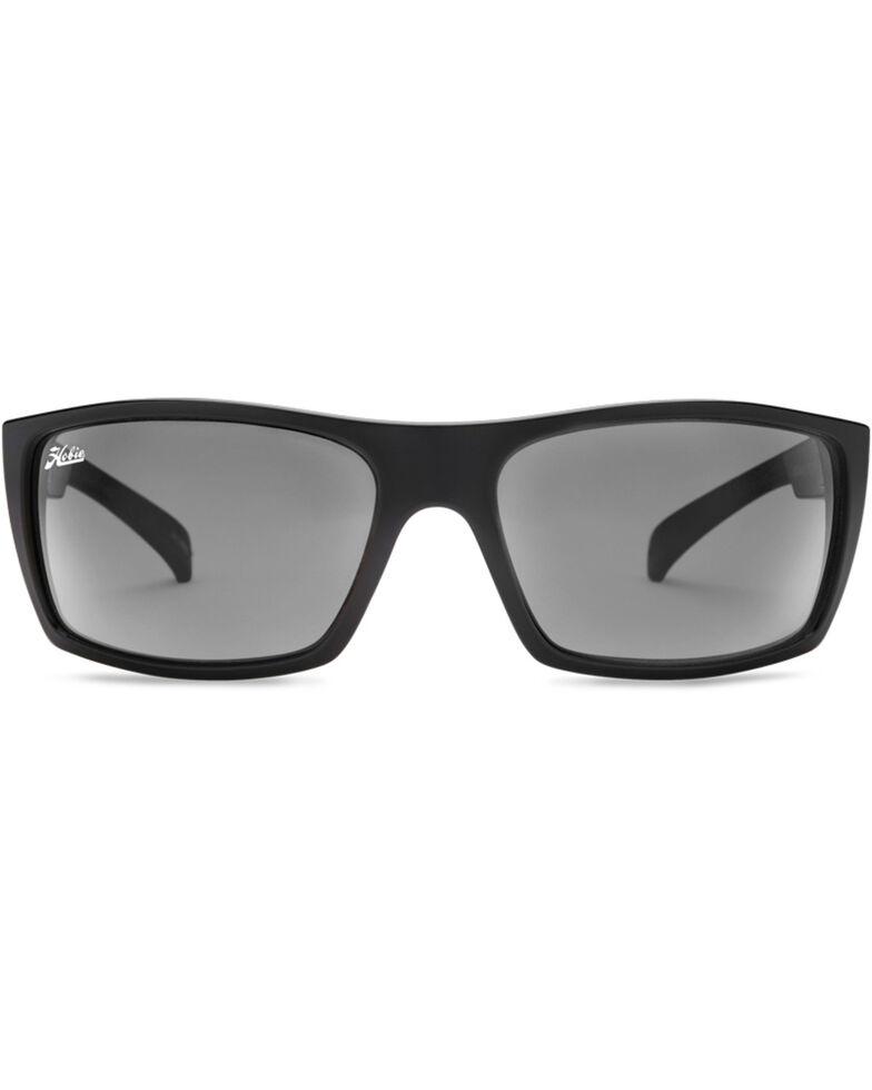 Hobie Men's Satin Black Baja Polarized Sunglasses  , Black, hi-res