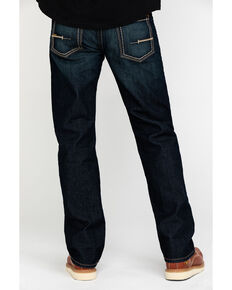Ariat Men's Rebar M5 Durastretch Edge Slim Straight Work Jeans , Blue, hi-res