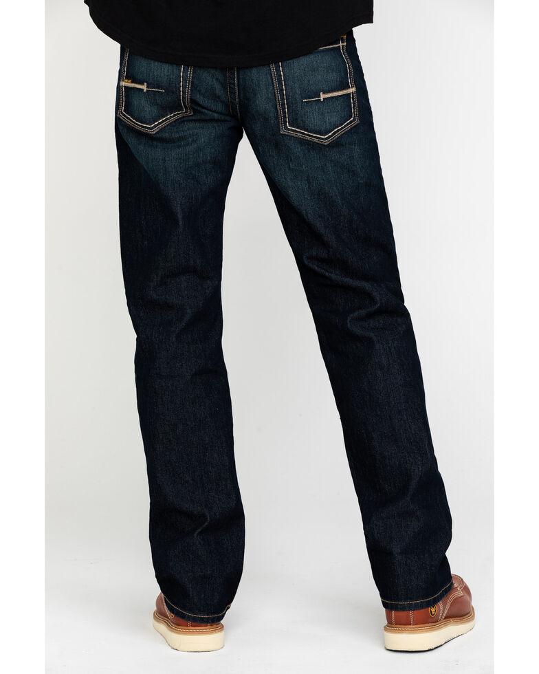 Ariat Men's Rebar M5 Durastretch Edge Slim Straight Work Jeans , Blue, hi-res