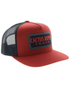 super popular 24ba9 2c569 HOOey Men s Red   Blue Cactus Ropes Patch Cap