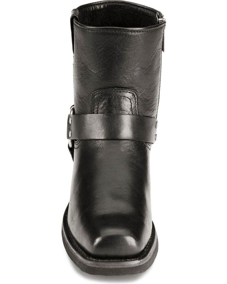 Harley Davidson El Paso Harness Zipper Motorcycle Boot, Black, hi-res