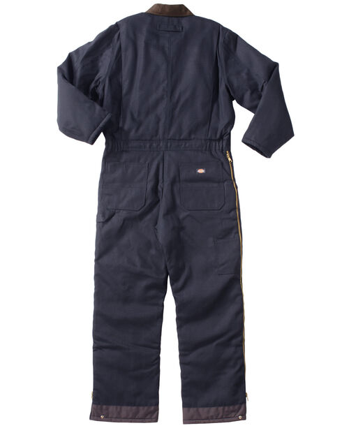 Dickies Duck Insulated Coveralls, Navy, hi-res