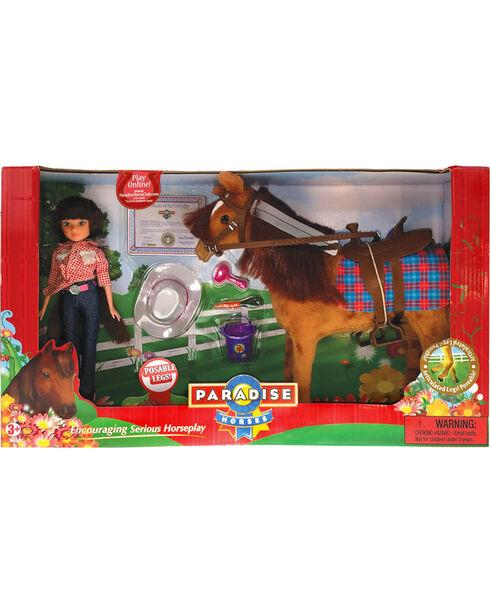 Paradise Horses Doll and Horse Playset, No Color, hi-res