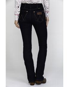 Wrangler Retro Women's High Rise Dark Boot Jeans , Blue, hi-res