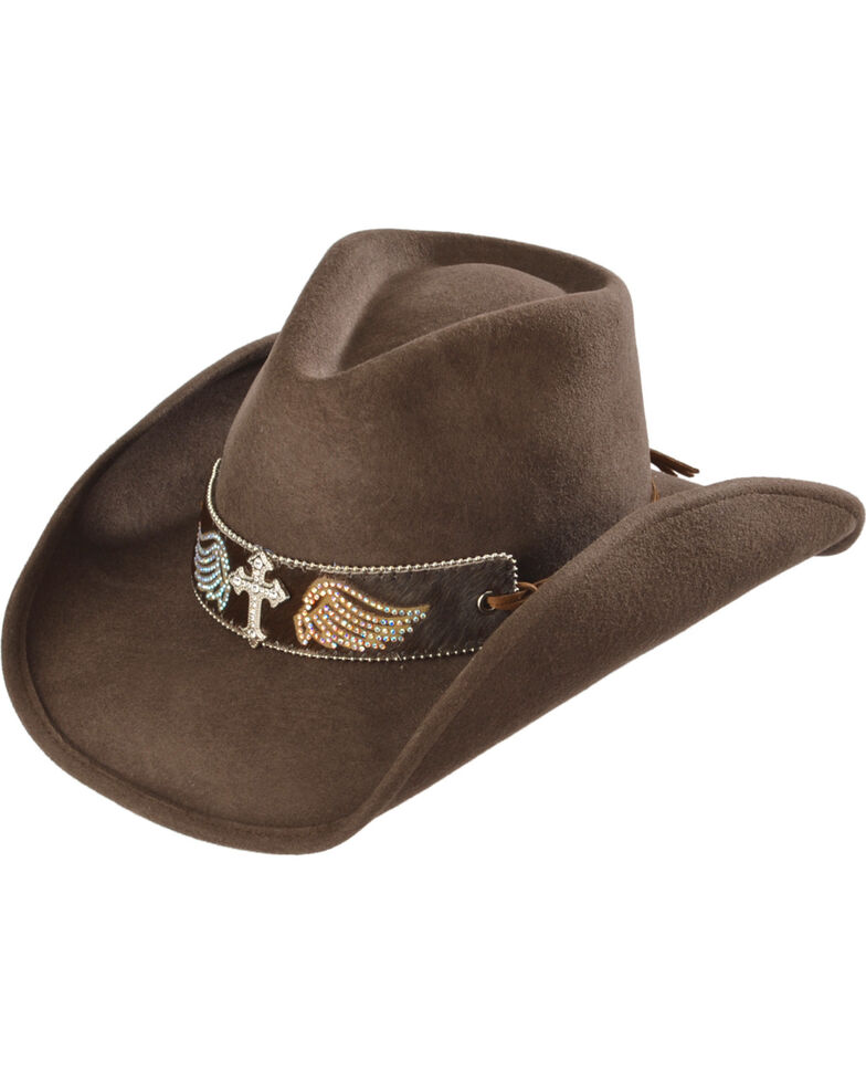 ed5bd65b5ebe0 Bullhide Hats Women s State of Grace Felt Cowgirl Hat