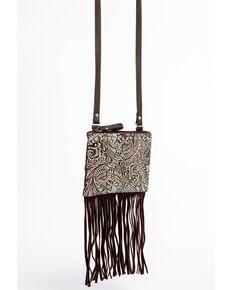 a23d8cc05bce Shyanne Womens Filigree and Fringe Crossbody Bag