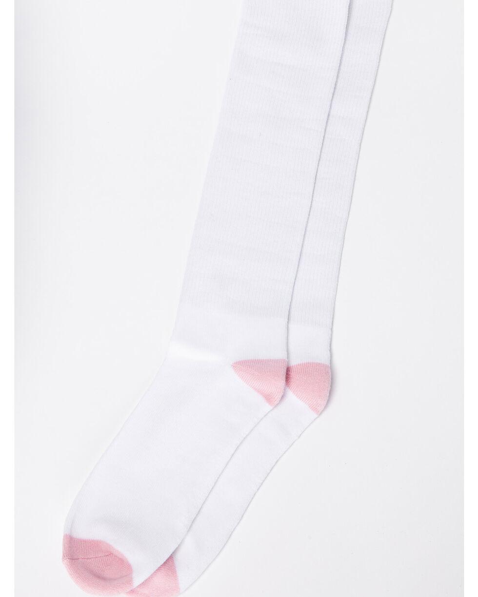 Shyanne Women's Tall Crew Socks - 3 Pack, White, hi-res
