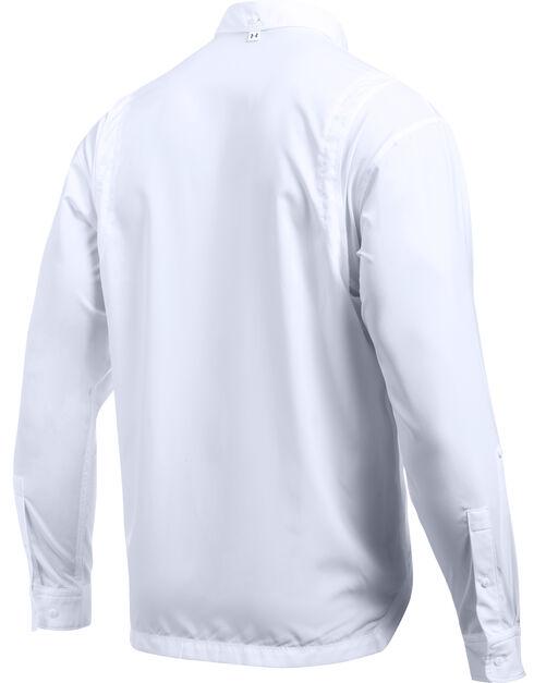 Under Armour Men's Tide Chaser Long Sleeve Shirt, White, hi-res