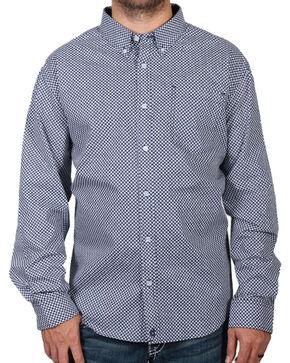 Cody James Men's Loess Long Sleeve Shirt, Navy, hi-res