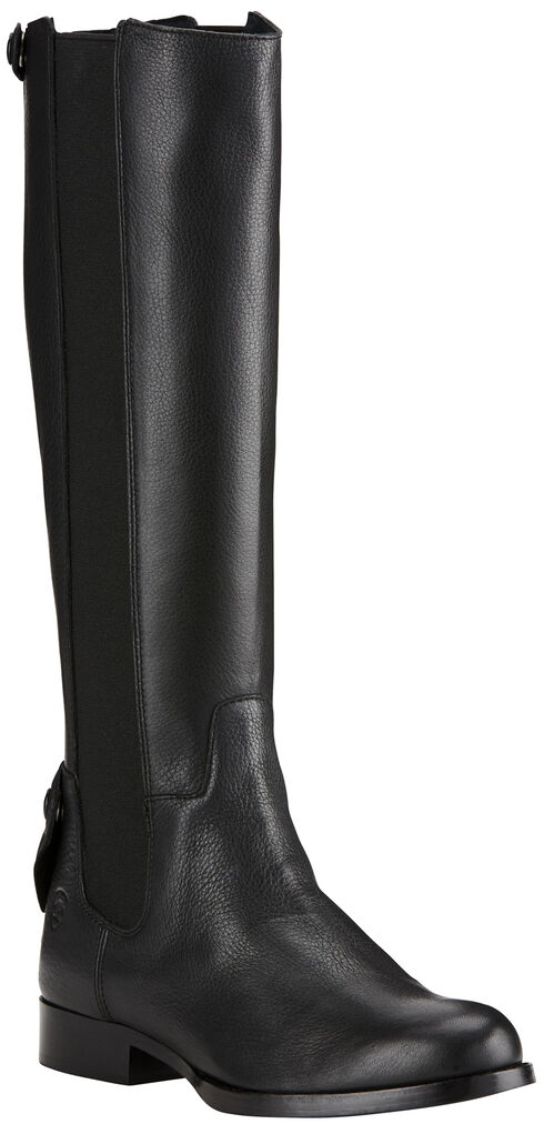 Ariat Women's Raven Waverly Tall Boots - Round Toe , Black, hi-res