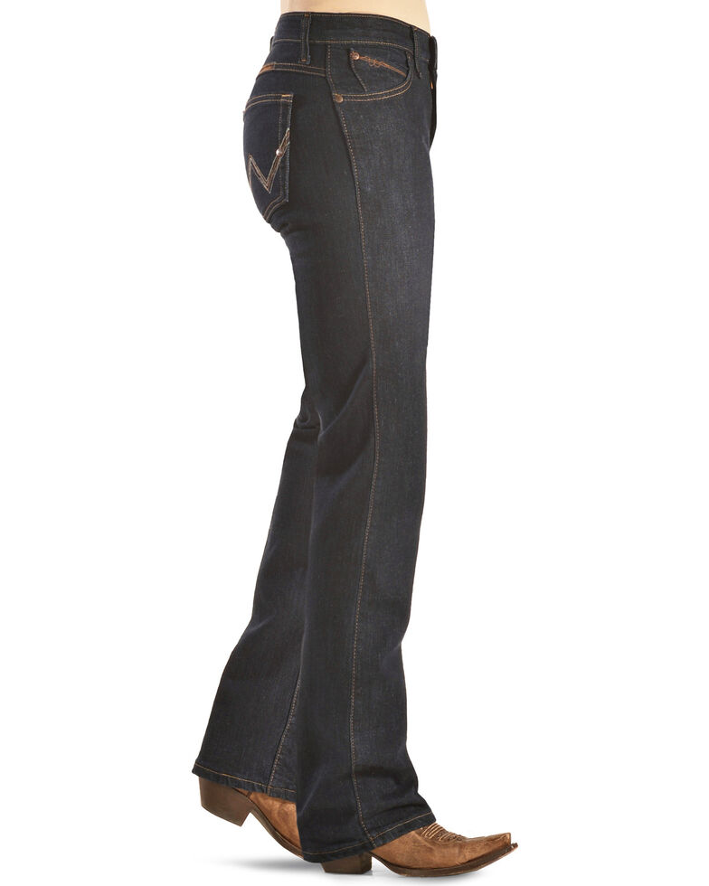 Wrangler Women's Dark Dynasty Ultimate Riding Q-Baby Jeans  , Dk Dynasty, hi-res