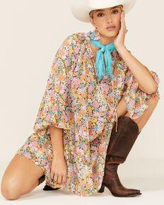 Show Me Your Mumu Floral Viola Mini Dress, Multi, hi-res