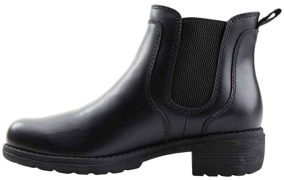 Eastland Women's Black Double Up Jodhpur Boot , Black, hi-res
