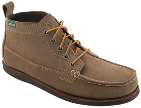 Eastland Men's Natural Seneca Camp Moc Chukka Boots, Tan, hi-res