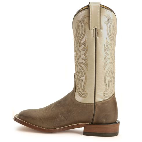 Tony Lama Cross Inlay Cowgirl Boots, Tan, hi-res