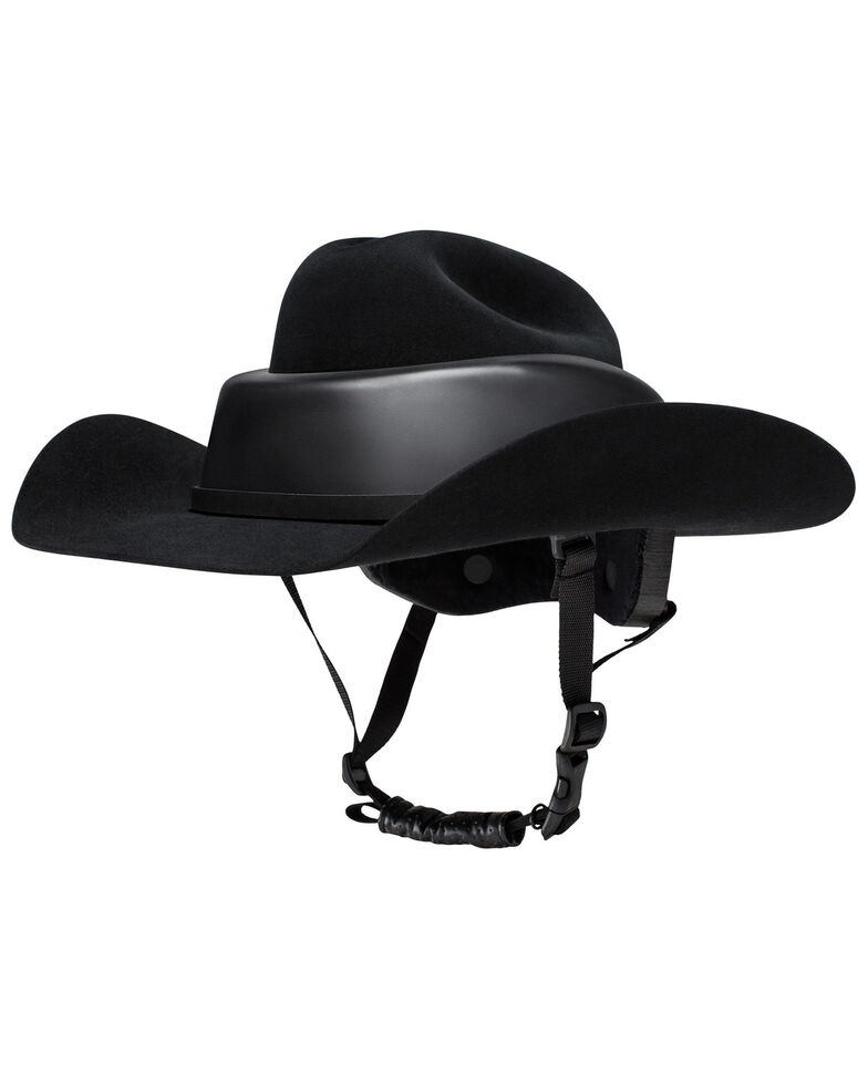 Resistol Men's Ridesafe Cowboy Hat , Black, hi-res