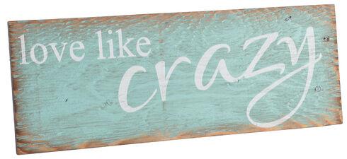 BB Ranch Love Like Crazy Wall Plaque, No Color, hi-res
