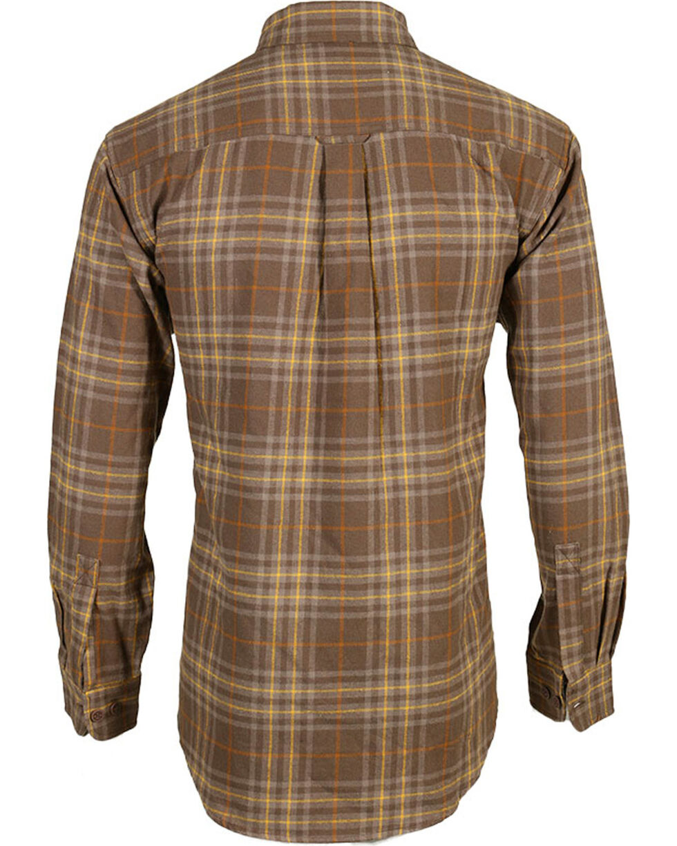 Wolverine Men's Hammond Plaid Flannel Shirt, , hi-res