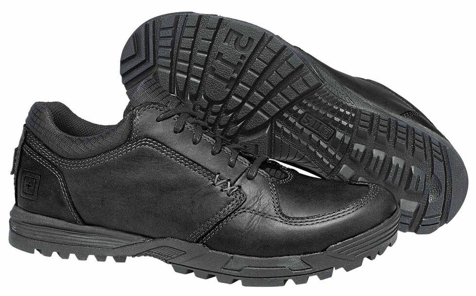 5.11 Tactical Men's Pursuit Lace-Up Shoes, Black, hi-res