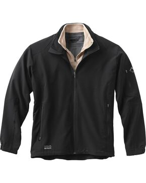 Dri Duck Men's Baseline Softshell Jacket - 3X & 4X, Black, hi-res