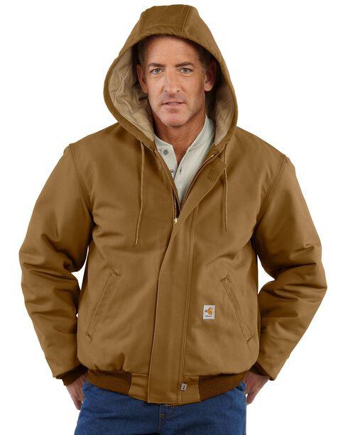 Carhartt Flame Resistant Work Jacket, Carhartt Brown, hi-res