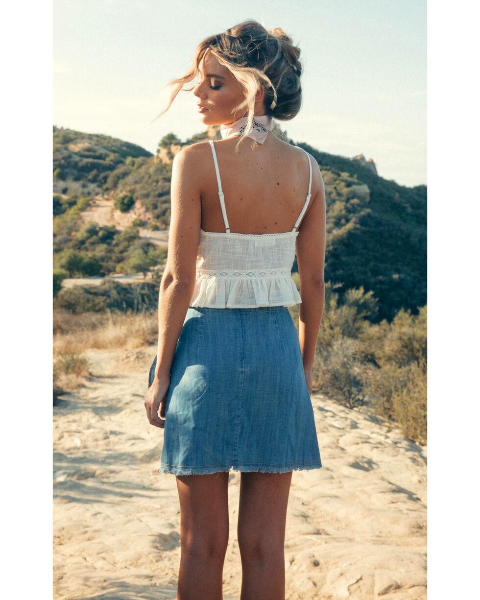 Sadie & Sage Women's Indigo Emery Skirt, Indigo, hi-res