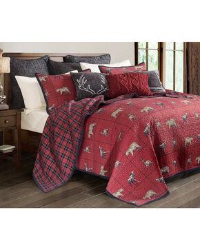 HiEnd Accents Woodland Plaid King Quilt Set, Multi, hi-res