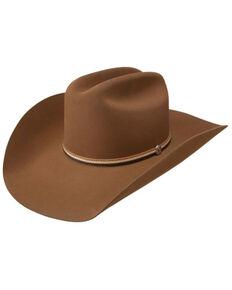 Stetson Men's Chestnut 6X Hobbs Wool Felt Western Hat , Brown, hi-res