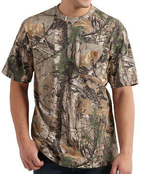 Carhartt Realtree Camo T-Shirt, Camouflage, hi-res