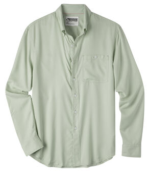 Mountain Khakis Men's Passport EC Long Sleeve Shirt, Green, hi-res