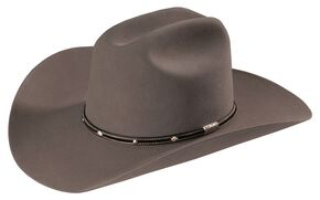 Stetson Angus 6X Fur Felt Cowboy Hat, Grey, hi-res