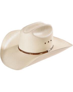 Resistol Men's Natural George Strait Straw Kingman Hat  , Natural, hi-res