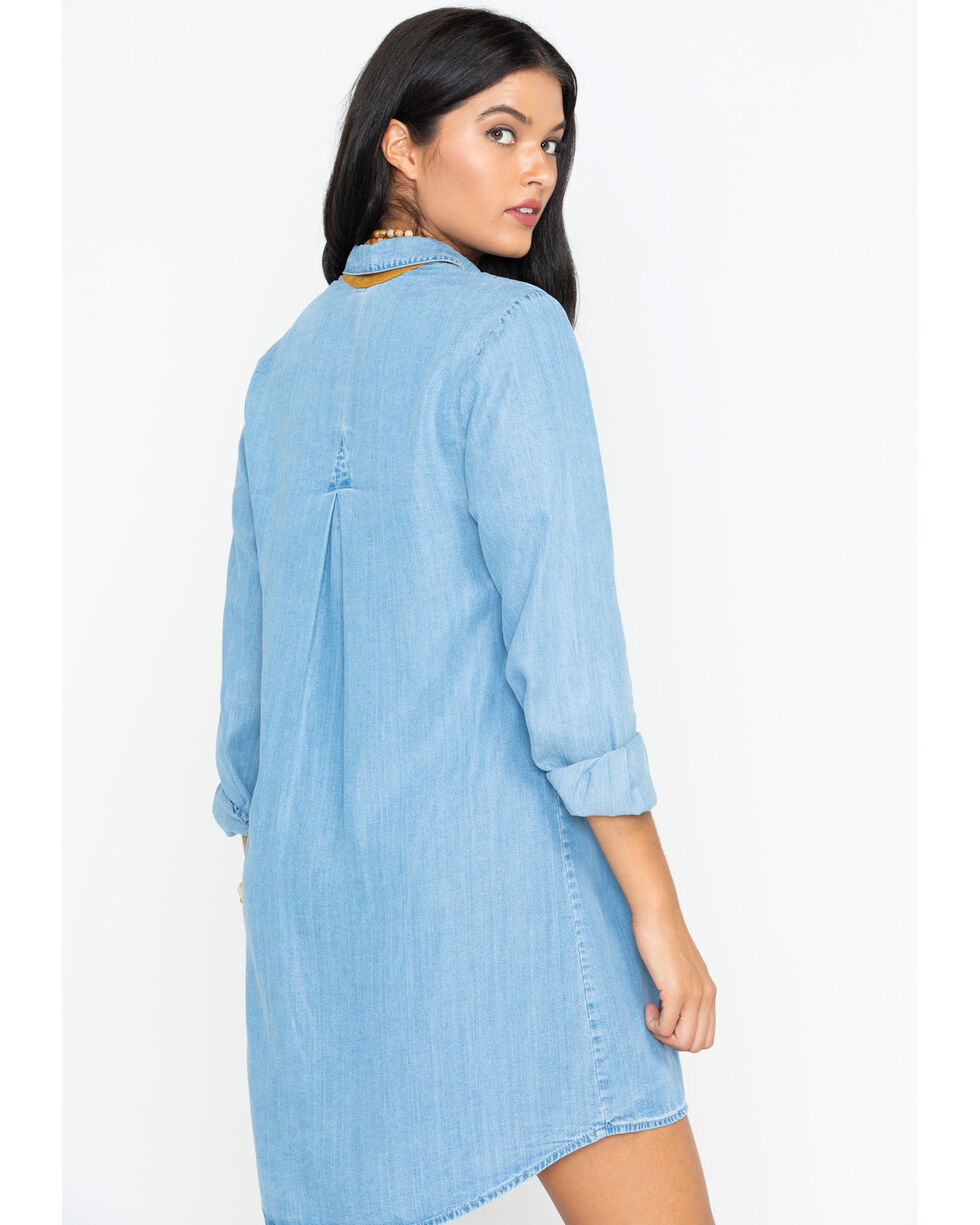 Tasha Polizzi Women's Indigo Rosa Dress , Indigo, hi-res