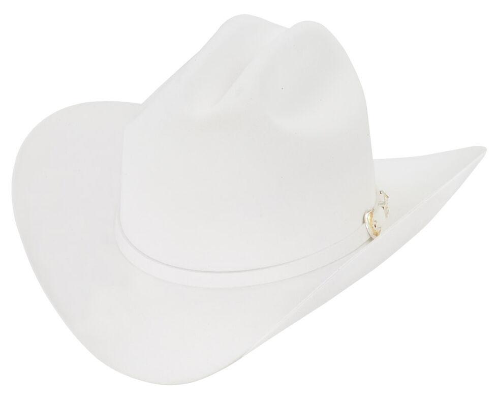 Larry Mahan 6X Regio Fur Felt Hat, White, hi-res