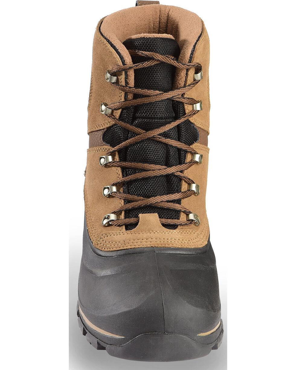 Sorel Men's Brown Buxton Lace Up Boots - Round Toe , Black, hi-res