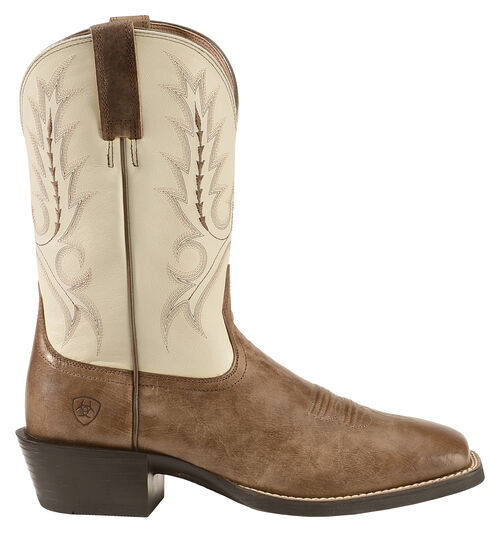Ariat Brown Sport Outfitter Cowboy Boots - Square Toe , Brown, hi-res