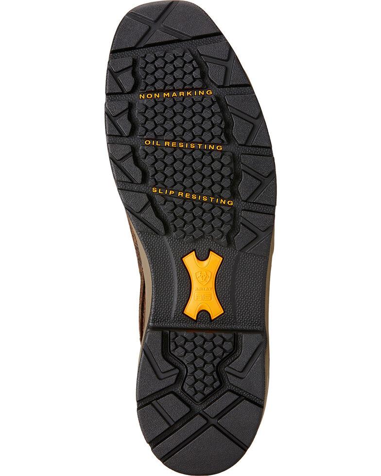 "Ariat Men's Mastergrip 6"" H2O Waterproof Boots - Composite Toe, Brown, hi-res"