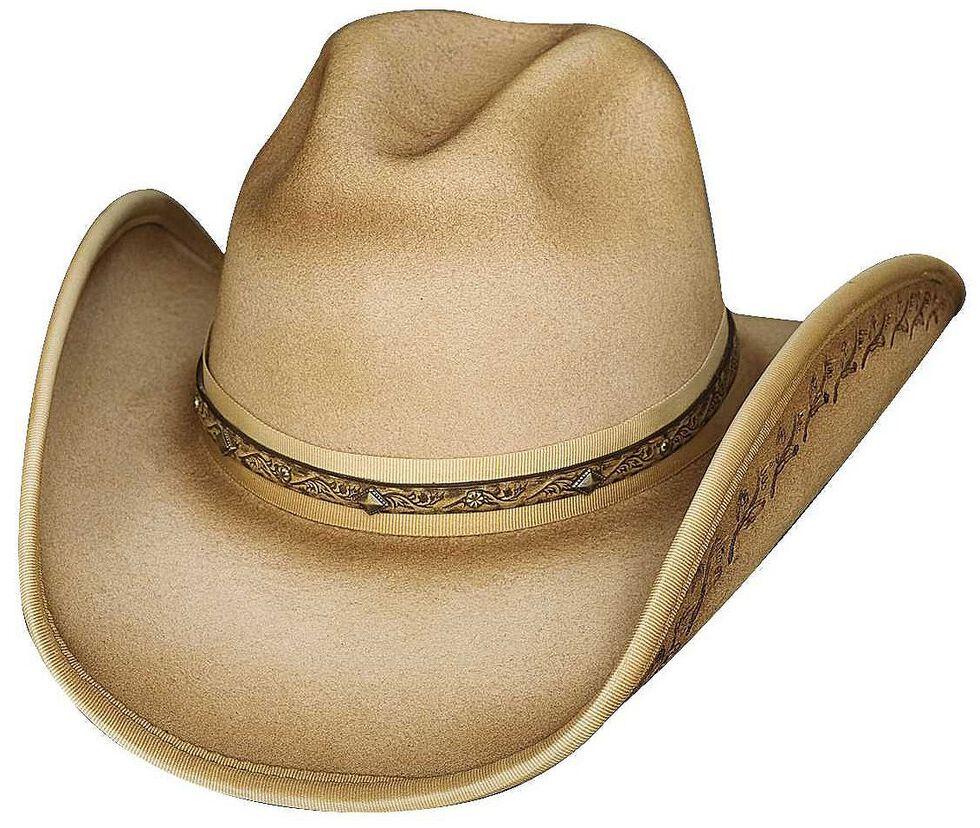 Bullhide Back in Time Wool Hat, Buckskin, hi-res