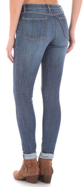Wrangler Retro® Women's Indigo Mid-Rise Mae Jeans - Skinny, Indigo, hi-res