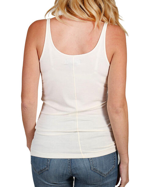 Shyanne Women's Classic Layering Tank Top, Ivory, hi-res