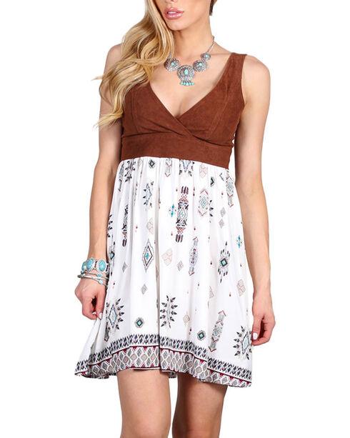 Shyanne Women's Tribal Print Dress , Multi, hi-res