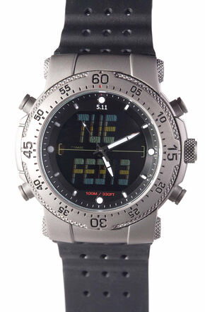 5.11 Tactical H.R.T. Titanium Watch, Multi, hi-res